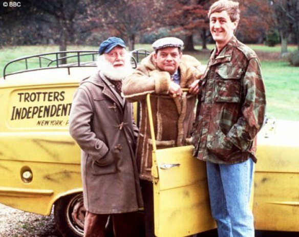 Uncle Albert, Delboy and Rodney - not to forget Grand Dad.