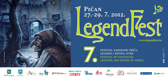 Legendfest 2012 poster