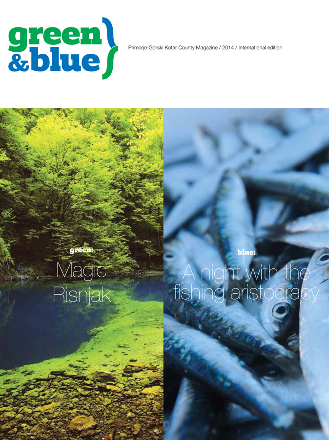 green and blue 2014