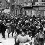 Rijeka Korzo celebrations 1918-1919