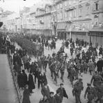 British troops on Korzo 1918