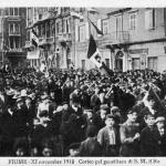 Fiume 11 November 1918 parade